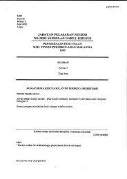 jabatan pelajaran negeri negeri sembilan darul kitusus - Trial Paper ...