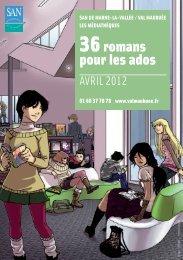 36 romans pour les ados - Agglomération de Marne-la-Vallée / Val ...