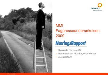 Synovate Report - nrapp.no