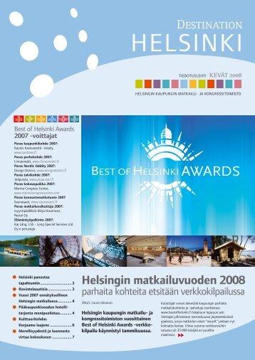 Destination Helsinki, kevät 2008, pdf-tiedosto, koko 3