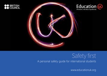 Safety first - English UK