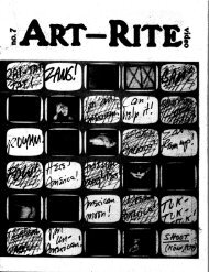 Art-Rite Artist Contributors - Experimental Television Center