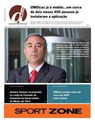 Jornal UMdicas nº105, de 4 de Outubro de 2012