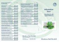 Checkliste Sturz - Klinikum Bad Hersfeld GmbH