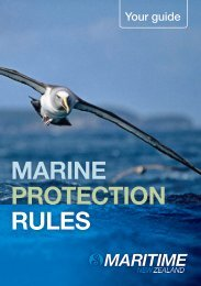 Your guide to Marine Protection Rules - Maritime New Zealand