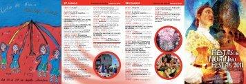 Programa mano 2011 - Ayuntamiento de Noáin