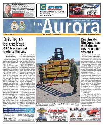 May 27 2013 - The Aurora Newspaper