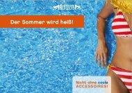 Der Sommer wird heiß! - Login