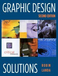 Graphic Design Solutions, Second Edition - Nesnadny + Schwartz