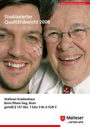 Strukturierter Qualitätsbericht 2008