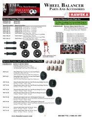 Wheel Balancer Brochure - The Main Resource