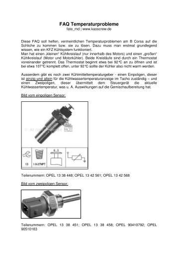 FAQ Temperaturprobleme - Kaos Crew...www.kaoscrew.de...