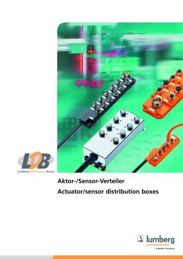 Aktor-/Sensor-Verteiler Actuator/sensor distribution boxes - AlHof