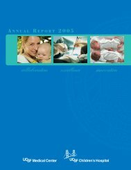 2005 Annual Report - UCSF Medical Center