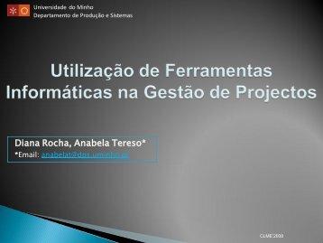 Open Project - Departamento de Produção e Sistemas ...