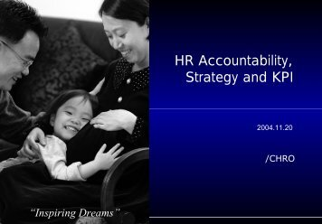 HR Accountability, Strategy and KPI - 한국경영정보학회