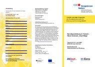Programmflyer - Teilzeitberufsausbildung - RE/init e.V.