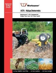 Worksaver ATV - Edney Distributing Co. Inc.