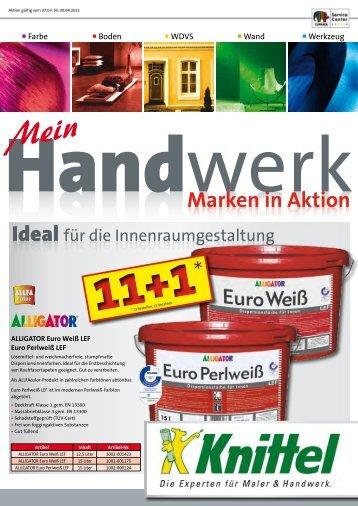 Marken in Aktion - Knittel Farben