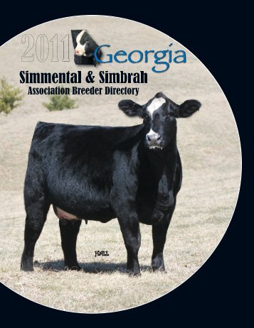 View PDF - click here! - Georgia Simmental & Simbrah Association