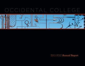 1 - Occidental College
