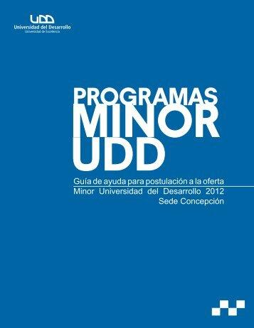 PROGRAMAS - Universidad del Desarrollo