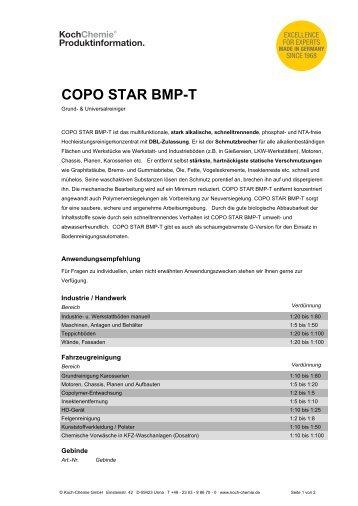 COPO STAR BMP-T - Koch-Chemie