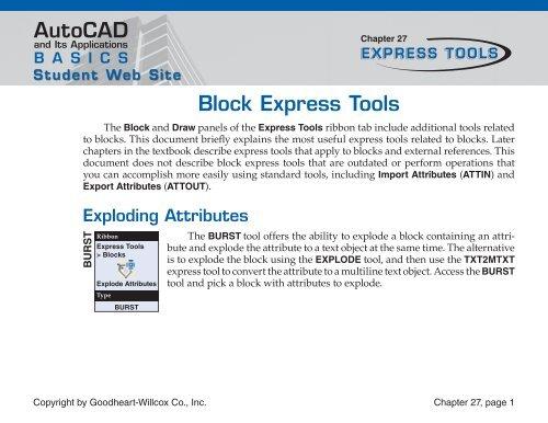 AutoCAD Block Express Tools