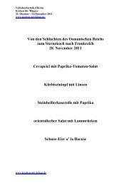 Schnee-Eier a' la Bocuse - Kochen-mit-Klaus.de
