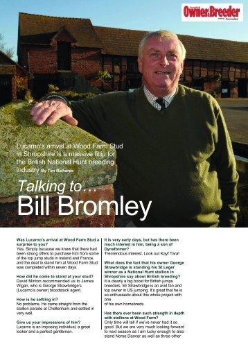 Bill Bromley - British Horseracing Authority