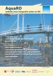 Folder AquaRO-methode - 'Het hoe, waarom en ... - Leven met Water