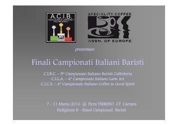Finali Campionati Italiani Baristi - 9bar