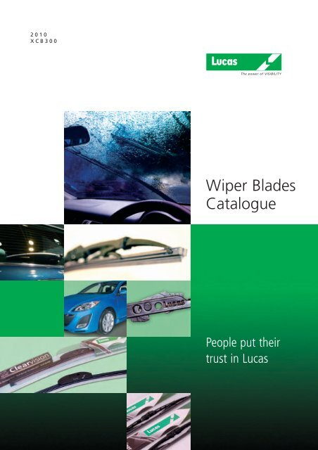 Lucas Electrical 18 Conventional Wiper Blade LWCB18