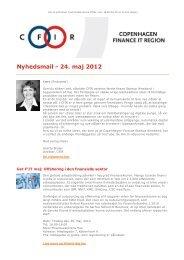 Nyhedsmail - 24. maj 2012 - CFIR