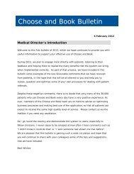 February 2012 bulletin (PDF, 38Kb) - Choose and Book