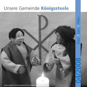 Unsere Gemeinde Königssteele - koenigssteele.de