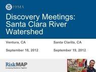 Santa Clara River Watershed Discovery ... - FEMA Region 9