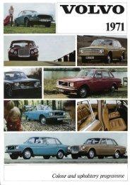 Farver og indtræk - Volvo 164