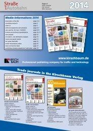 Mediadaten 2014 in Englisch herunterladen - Straße und Autobahn