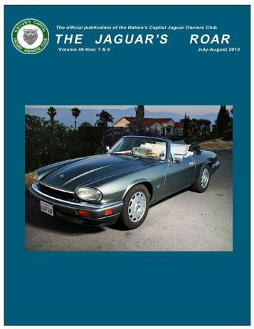 T H E J A G U A R ' S  R O A R - Nation's Capital Jaguar Owners Club