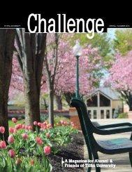 Challenge - Spring/Summer 2012 - Tiffin University