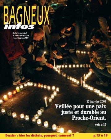 Bagneux infos 163 - février 2009