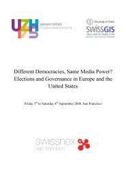 Different Democracies, Same Media Power? Elections and ...