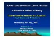 Trade Fair - Eurochambres Academy