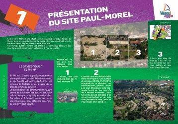 Présentation du site Paul-Morel 1 2 3 1 2 3 - Office de Tourisme du ...