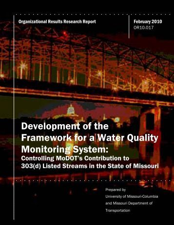 Water Quality Monitoring System Report