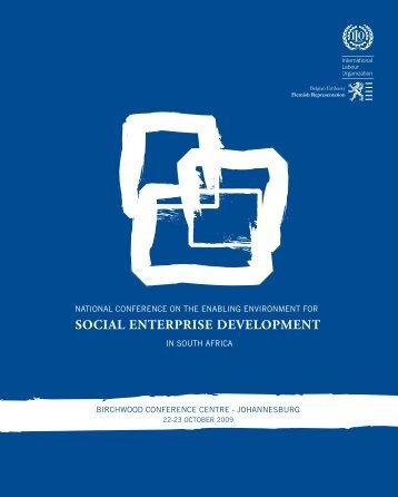 SOCIAL ENTERPRISE DEVELOPMENT - GivenGain