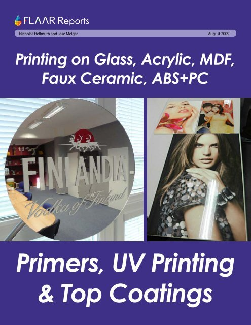 Primers, UV Printing & Top Coatings - Wide-format-printers.org