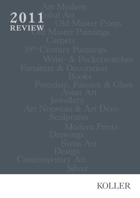 Review 2011 (PDF 7MB) - Koller Auktionen
