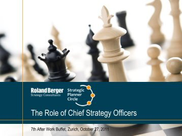 Presentation is available for download. (PDF, 802 KB) - Roland Berger